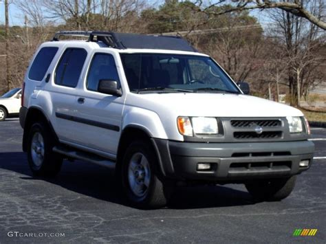 2001 cloud white nissan xterra se v6 26000104 photo 32 gtcarlot car color galleries