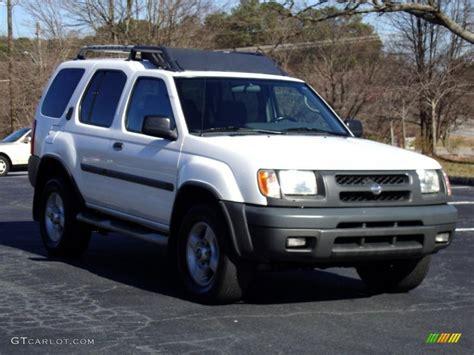 2001 cloud white nissan xterra se v6 26000104 photo 32 gtcarlot car color galleries