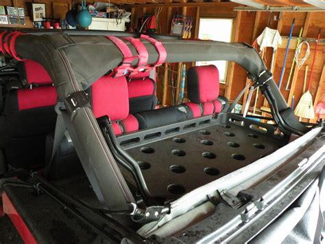 Jeep Jk Rear Cargo Rack Roll Bar Mounted Cargo Rack