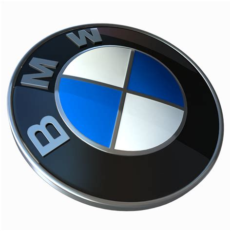 logo bmw 3d bmw logo 3d model game ready max cgtrader com