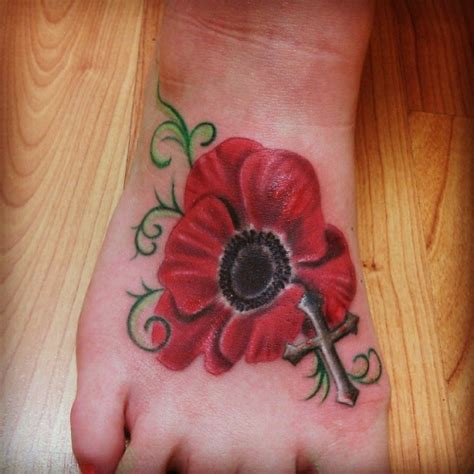 poppy tattoo designs foot poppy tattoos designs ideas and meaning tattoos for you