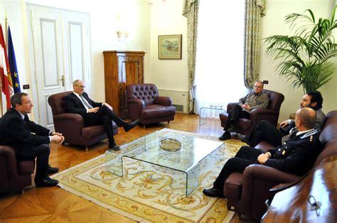 casa circondariale di trento il presidente ha ricevuto il direttore della casa