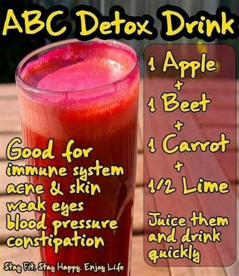 Detox Drink Recipes detox juice recipe hair health