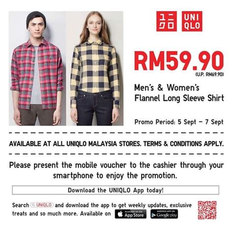 discount voucher uniqlo category freebies contests events malaysia