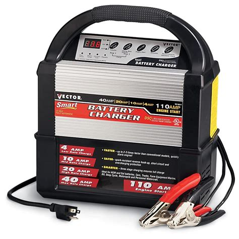 vector 174 12 volt smart battery charger 129267 chargers