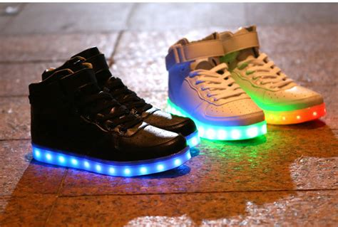 led light up shoes in stores new style led light up shoes flashing sneakers 183 cute