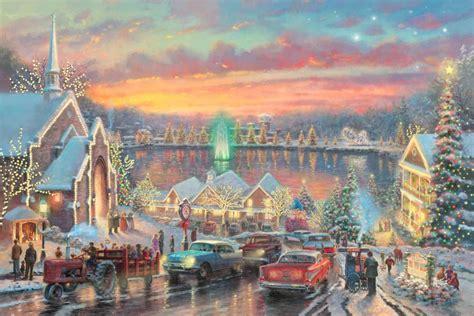 lights of christmas town the uk art depot shop