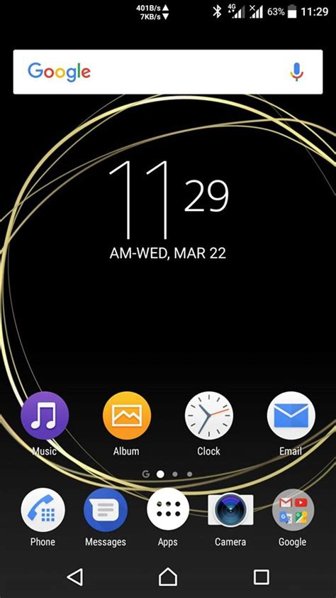 live themes for xperia c download official xperia loops theme from xperia xzs
