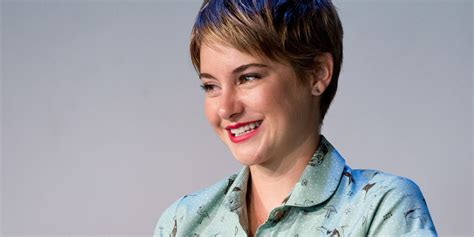 j laws short hair shailene woodley on why comparing her to j law is bad for