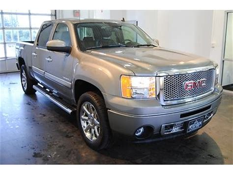 gmc cooled seats find used denali gmc 2013 gray crew cab heated