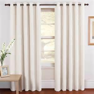 Plain White Curtains Chenille Plain Curtains Winter White