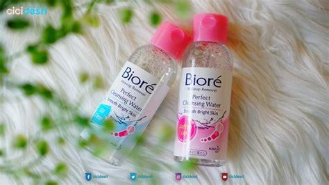 Harga Masker Wajah Biore review biore cleansing water soften up clear