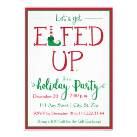 funny holiday party invitation wording funny christmas party invitations amp announcements zazzle