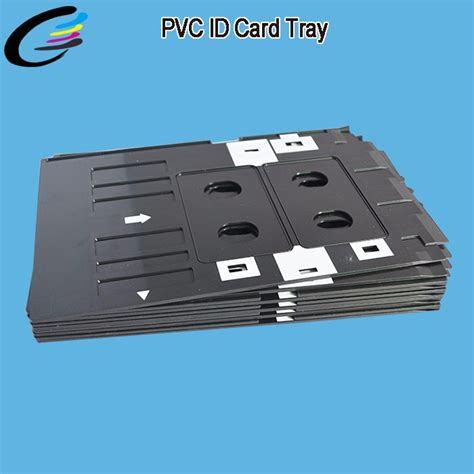epson l805 id card tray template inkjet pvc id card printer tray for epson l800 l805 l810