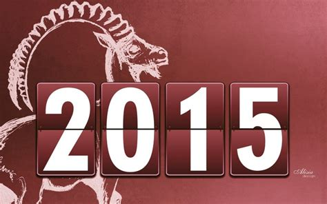 new year 2015 goat wallpaper new year 2015 brown goat wallpaper by chococruise