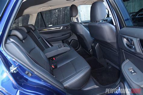 Subaru Outback Seats by 2015 Subaru Outback Premium 2 5i Rear Seats