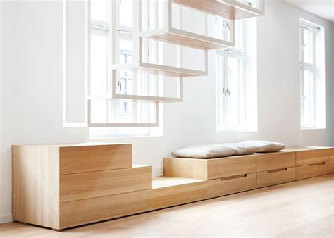Small Bedroom Idea suspended steel powder coated staircase floating above the