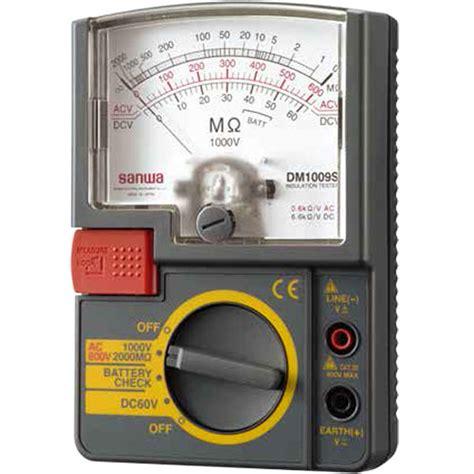 Mg5000 Sanwa Digital Insulation Tester jual analog insulation tester 1000v sanwa dm1009s