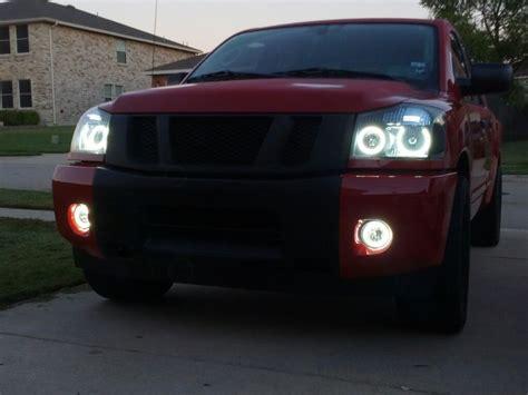 2009 nissan titan lights 08 titan halo headlights wallpaper