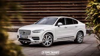2015 Volvo Coupe Volvo Xc90 Rendered As A Coupe Gtspirit