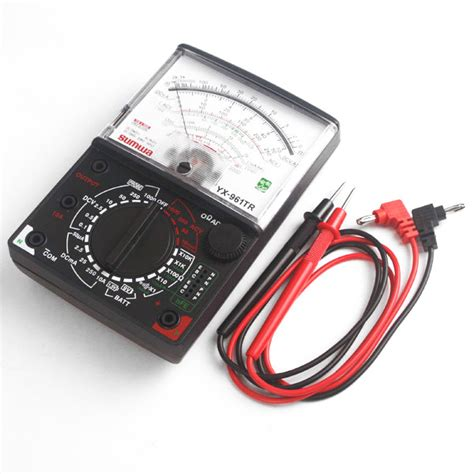 Multimeter Sunwa Analog sunwa yx961tr analog multimeter electrical meter