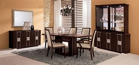 Chocolate Brown Dining Room by Chocolate Brown Dining Room With Leather Details