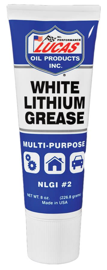 Lucas White Lithium Grease lucas 10533 white lithium grease 8 oz squeeze autoplicity