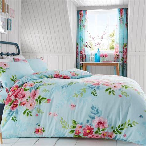 Bettwäsche Größen by Blumen Doppelt Bettbezug Kissenbezug Set T 252 Rkis