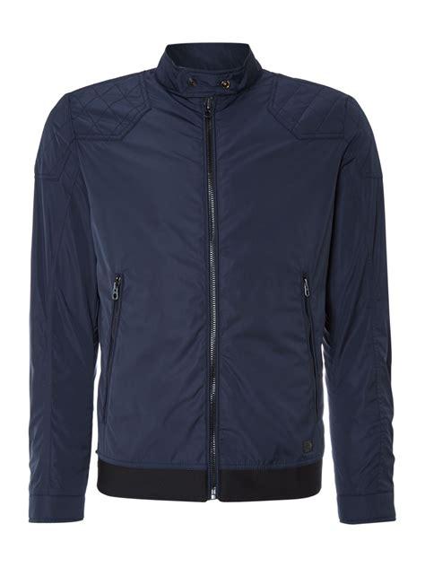 Jaket Hoodie Sweater Nicce Navy diesel jackets s leather jackets bomber blazers lyst