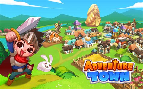 mod game apk new adventure town mod apk unlimited golds and crystals free