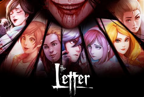 a the letter the letter horror visual novel by yangyang mobile