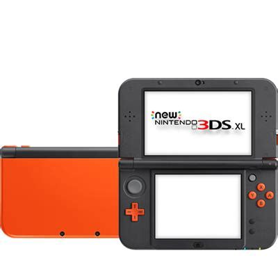 console nintendo 3ds xl new nintendo 3ds xl console orange jb hi fi