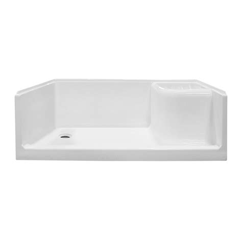 shower bath base seated shower base foremost bath