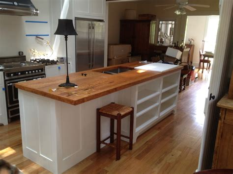 Pine Countertops by Remodeling