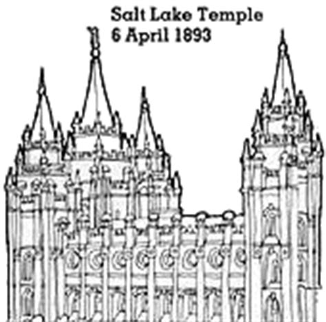 lds coloring pages temple