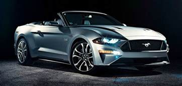 convertible new cars 2018 cars ford mustang convertible new performance photos