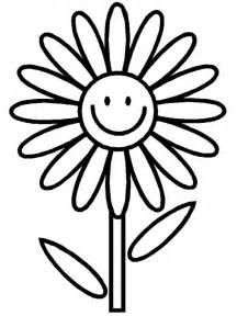 clipart of flowers coloring pages flower black and white clipart best