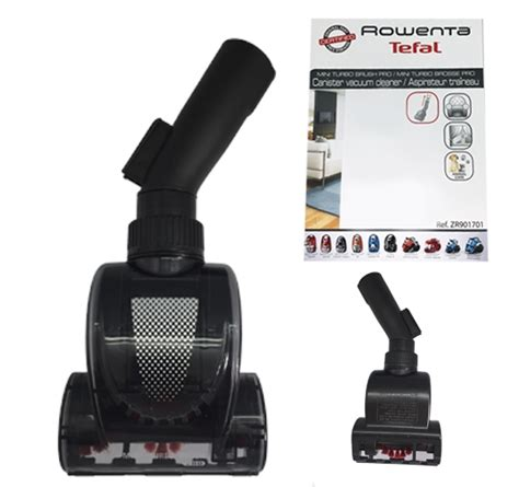 turbo brosse aspirateur rowenta rowenta silence rs rt3600
