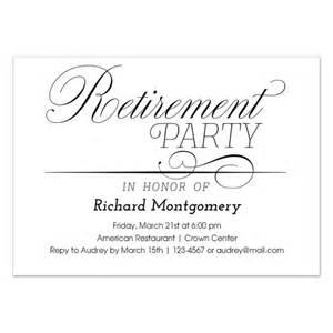 invitation card for retirement in wedding invitation ideas