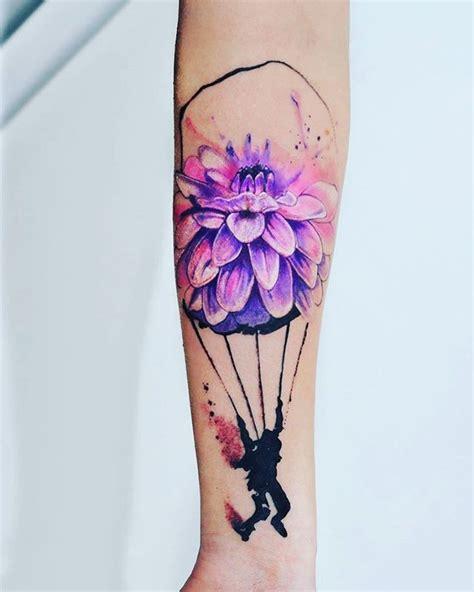 parachute tattoo designs flower parachute tattoos golfian