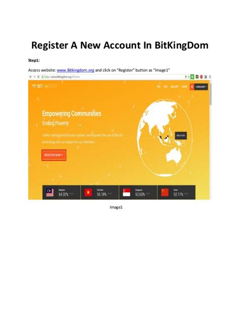 Account Manager Smb Stanford Mba Linkedin by Register A New Account In Bitkingdom