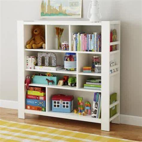 elegant kids bookshelf white wooden bookcase for sleek