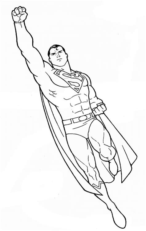 coloring book pages superman free coloring pages of superman