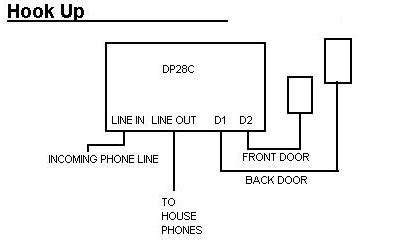 doorbell fon controller only choice image diagram