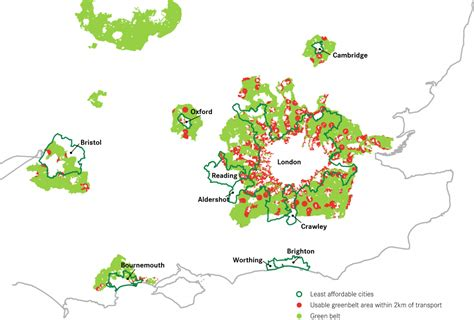 brownfield map the government s plan to build on brownfield in the