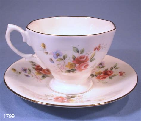 Royal Kent Vintage Bone China Roses Tea Cup and Saucer ? SOLD: Collectable China