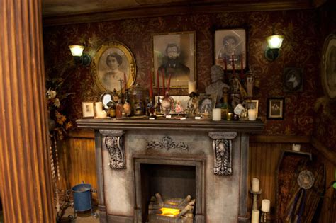Haunted Mansion Fireplace transworld attraction show 2012 haunted