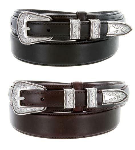 s5664 tanned leather ranger belt
