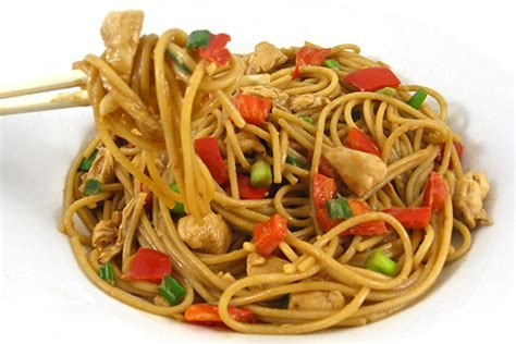 i m a chef my want buttered noodles a collection of recipes books thai chicken and peanut noodles with weight