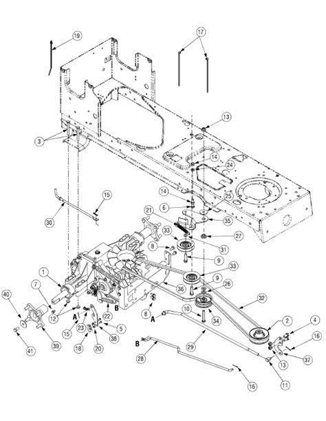 cub cadet drive belt diagram cub cadet ltx 1040 drive belt diagram pictures to pin on